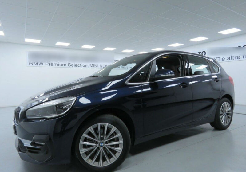 BMW Serie 2 218d act.tourer Luxury Imperial blue Km 0 RC0B3CR-a