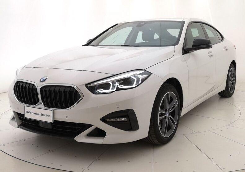 BMW Serie 2 218i Gran Coupé Sport Mineral White Usato Garantito 5B0CDB5-a