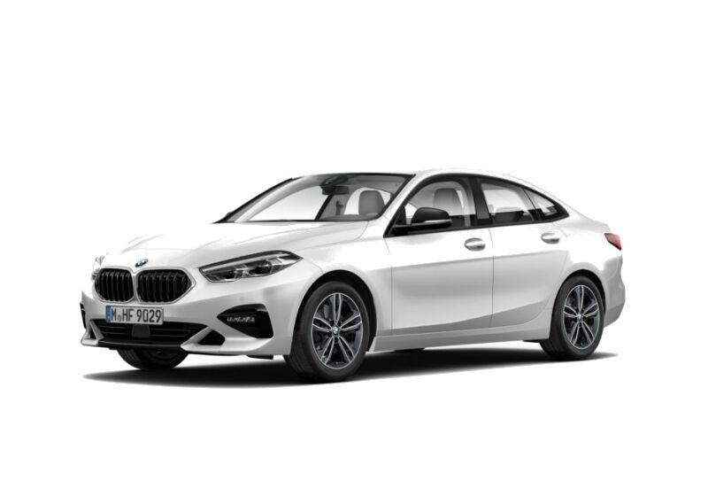 BMW Serie 2 218i Gran Coupé Sport Mineral White Da immatricolare 5T0B6T5-a