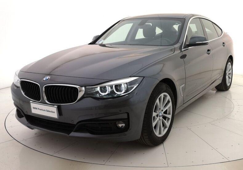 BMW Serie 3 G. T. 318d Gran Turismo Business Advantage auto Mineral Grau Usato Garantito C20BS2C-a