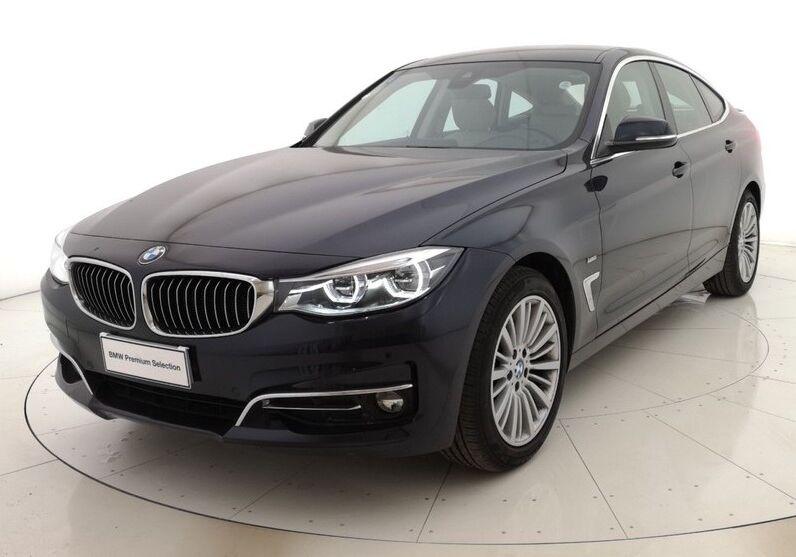 BMW Serie 3 G. T. 320d Gran Turismo Luxury auto Imperial blue Usato Garantito GF0BRFG-a