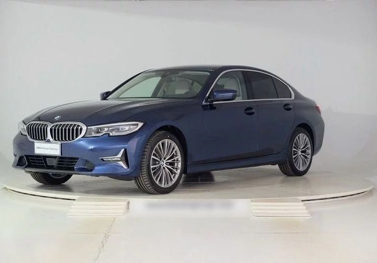 BMW Serie 3 320d Luxury Blue Ridge Mountain Km 0 MJY0YJM-a
