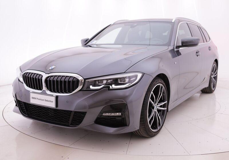 BMW Serie 3 320d 48V Touring Msport Auto Mineral Grey Usato Garantito 4C0BZC4-a