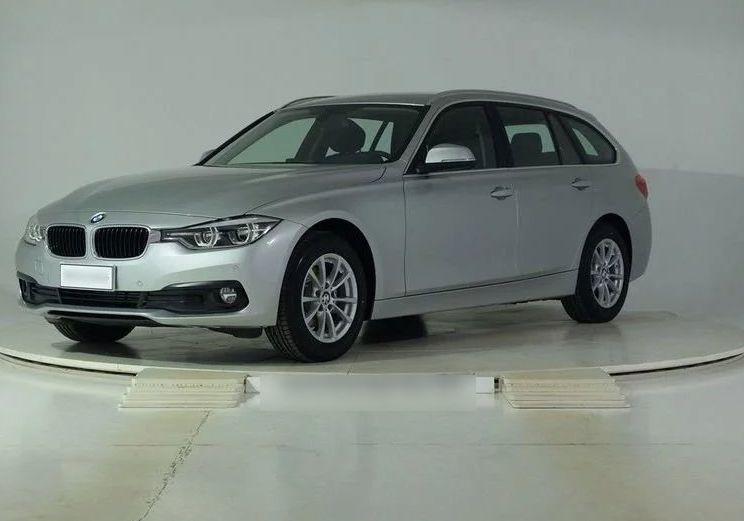 BMW Serie 3 316d Touring Business Advantage Automatica Glaciersilber Km 0 5ZW0WZ5-Schermata%202019-10-31%20alle%2010.32.39_censored