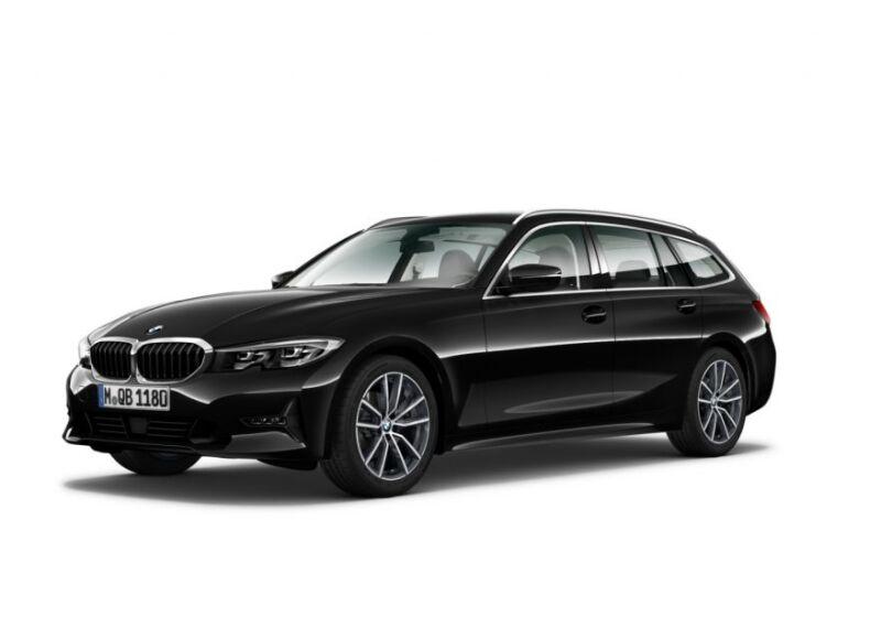 BMW SERIE 3 318d 48V Touring Business Advantage Saphirschwarz Km 0 QZ0B8ZQ-1