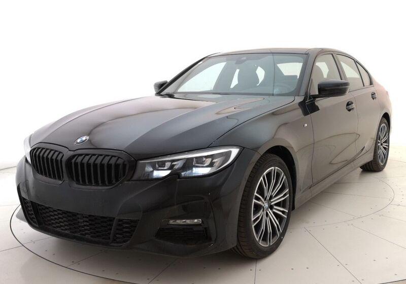 BMW Serie 3 318d Msport Auto Saphirschwarz Usato Garantito XL0CBLX-1