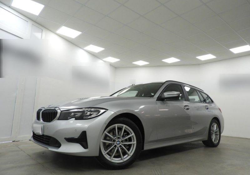 BMW Serie 3 318d Touring Business Advantage aut. Glaciersilber Km 0 AC0BDCA-a_censored