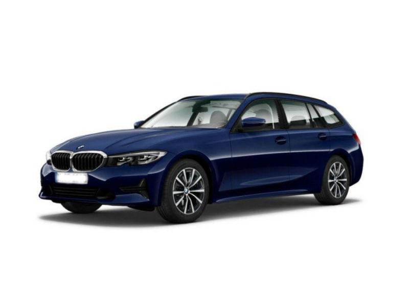 BMW Serie 3 318d Touring Business Advantage aut. Mediterranean Blu Km 0 BK0B2KB-a