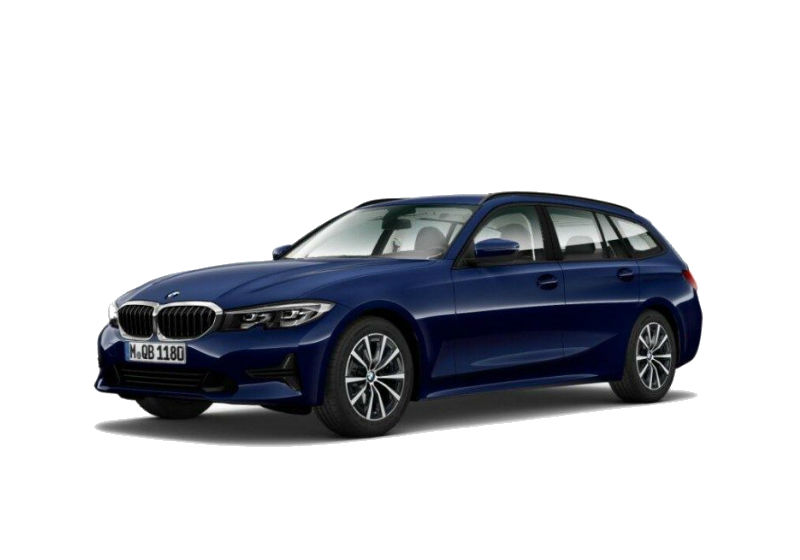 BMW Serie 3 318d Touring Business Advantage aut. Mediterranean Blu Km 0 JQ0B2QJ-a