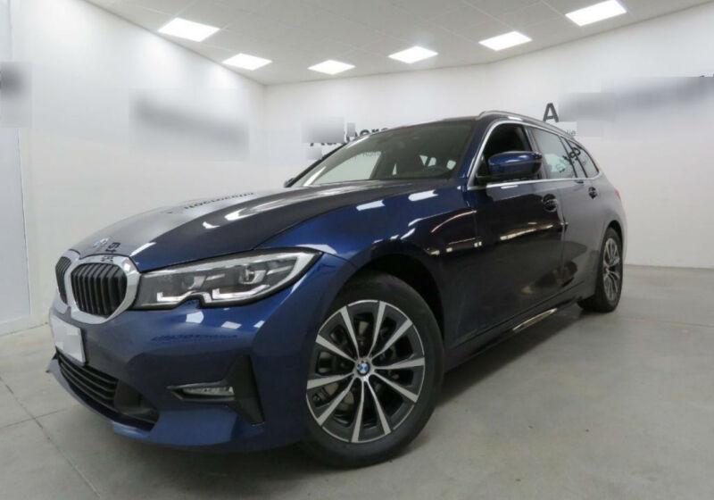 BMW Serie 3 318d Touring Business Advantage aut. Mediterranean Blu Usato Garantito SS0B2SS-0a