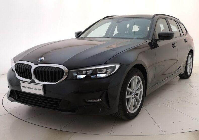 BMW Serie 3 318d Touring Business Advantage aut. Saphirschwarz Usato Garantito HM0CAMH-a