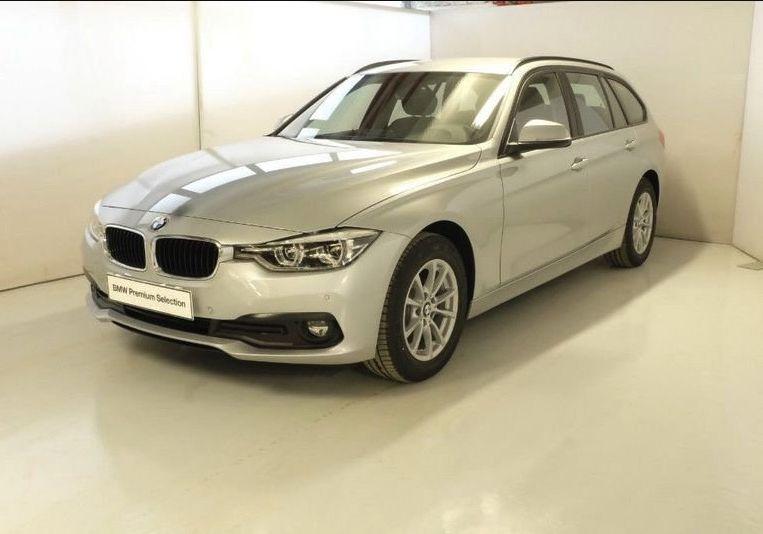 BMW Serie 3 318d Touring Business Advantage Automatica Glaciersilber Km 0 LEZ0ZEL-a