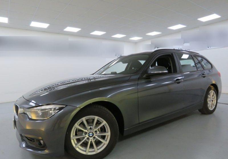 BMW Serie 3 318d Touring Business Advantage Automatica Mineral Grau Usato Garantito 9G0B3G9-1