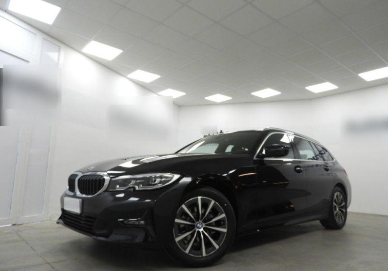 BMW Serie 3 318d Touring Business Advantage Saphirschwarz Km 0 QC0BDCQ-a_censored