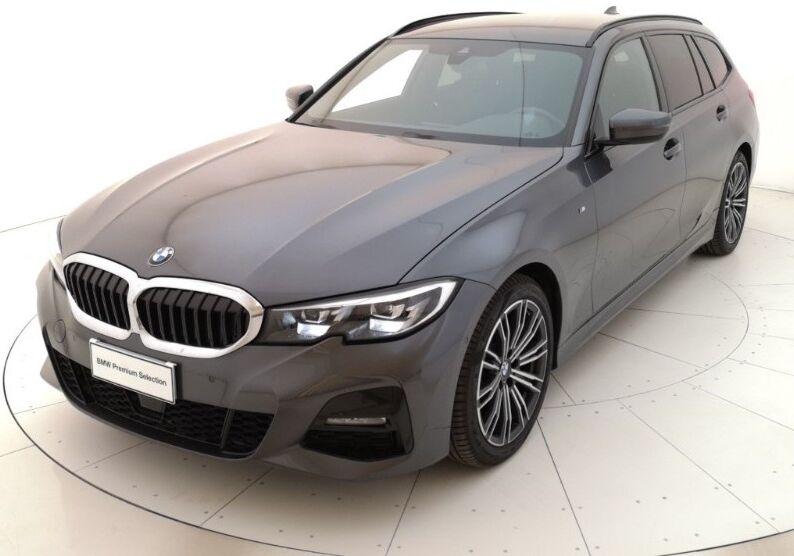 BMW Serie 3 318d Touring Msport auto Mineral Grau Usato Garantito KN0BPNK-a