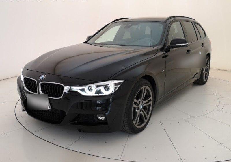 BMW Serie 3 318d Touring MSport Auto Saphirschwarz Usato Garantito GK0BPKG-a_censored%20(1)
