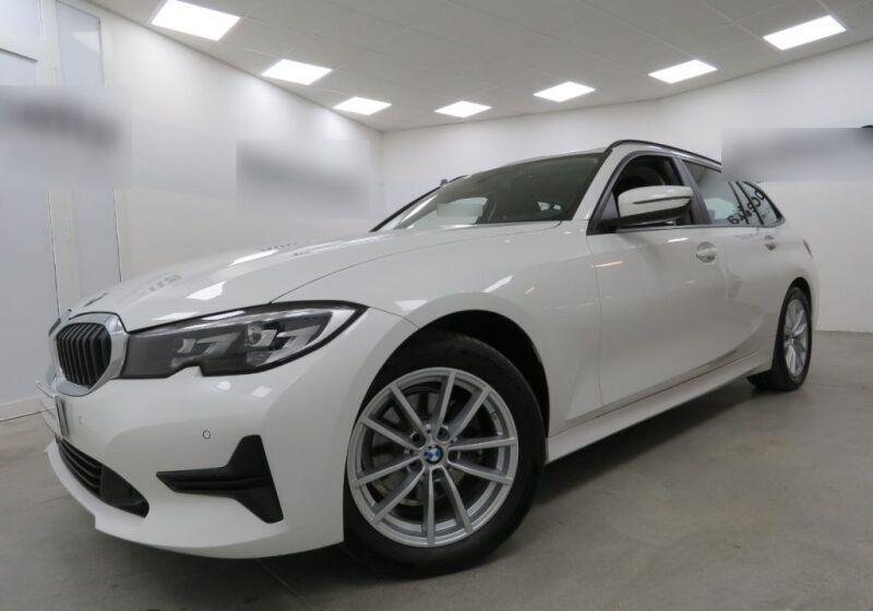 BMW Serie 3 320d touring Business Advantage auto Alpinweiss III  Usato Garantito DT0B9TD-a_censored%20(1)