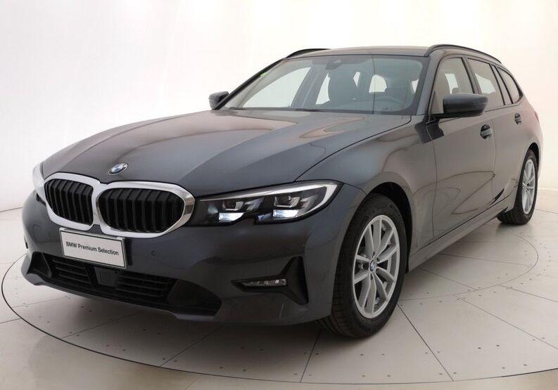 BMW Serie 3 320d touring Business Advantage auto Mineral Grey Usato Garantito PG0CBGP-a