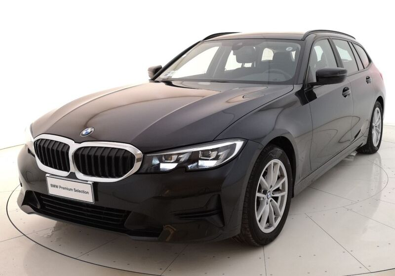 BMW Serie 3 320d touring Business Advantage auto Saphirschwarz Usato Garantito 7Z0B8Z7-a
