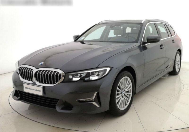 BMW Serie 3 320d Touring Luxury Mineral Grey Usato Garantito C50B85C-a