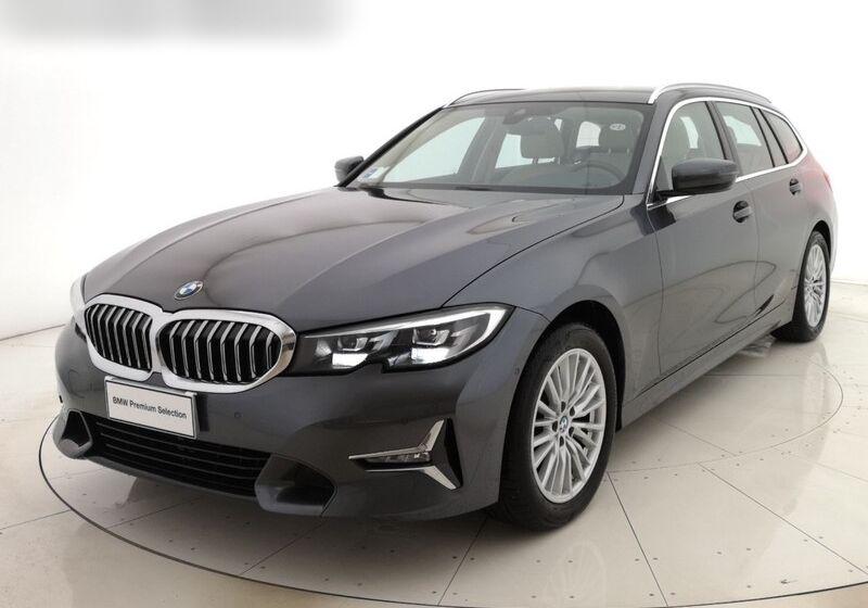 BMW Serie 3 320d Touring Luxury Mineral Grey Usato Garantito KR0B8RK-bmw-v1