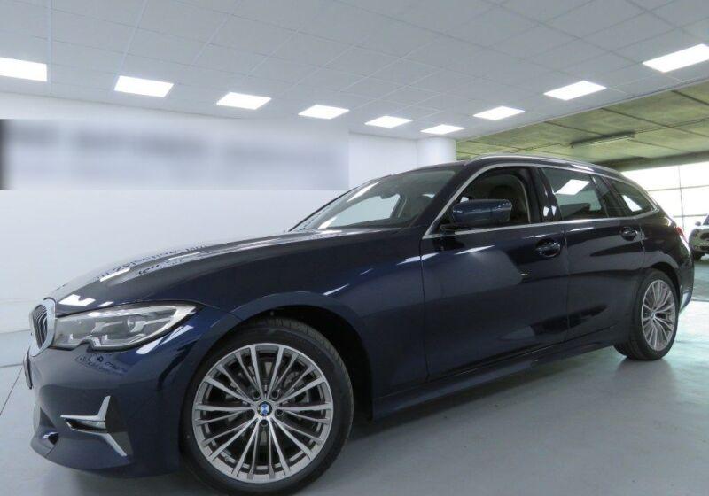 BMW Serie 3 320d Touring Luxury Tanzanite Blue Km 0 PJ0B5JP-a_censored