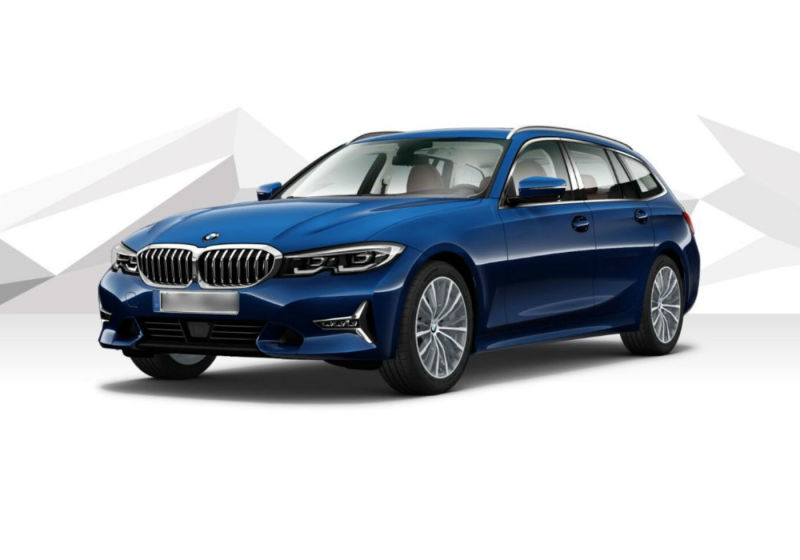 BMW Serie 3 320d Touring Luxury Tanzanite Blue Km 0 RT0BDTR-a