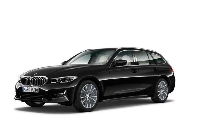 BMW Serie 3 320d Touring xdrive Luxury auto Saphirschwarz Km 0 C90BR9C-1