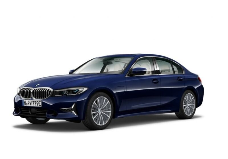 BMW Serie 3 330e Luxury Tanzanite Blue Usato Garantito ZX0CJXZ-a-v1