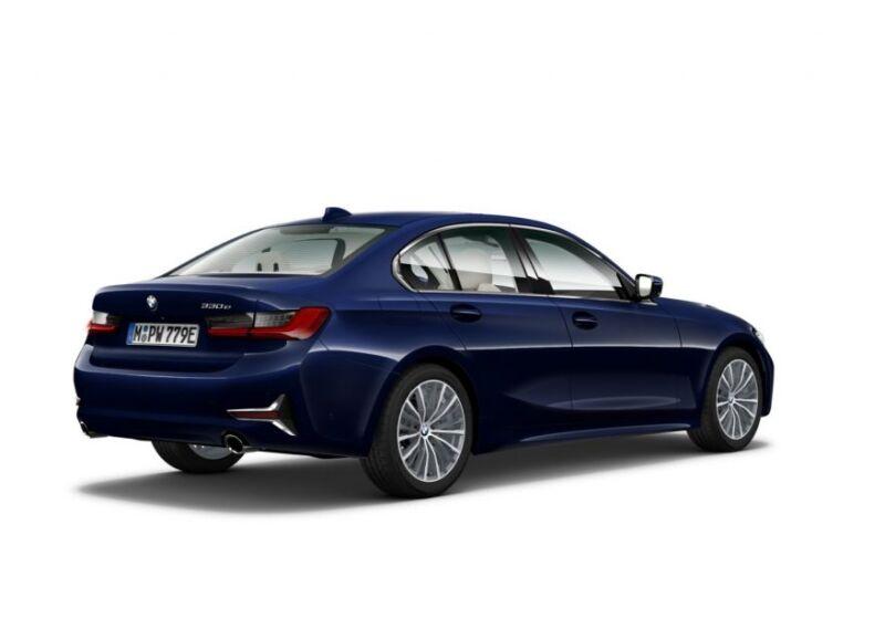 BMW Serie 3 330e Luxury Tanzanite Blue Usato Garantito ZX0CJXZ-b