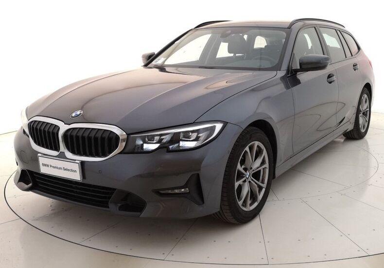 BMW Serie 3 Touring Sport auto Mineral Grey Usato Garantito QJ0BTJQ-a