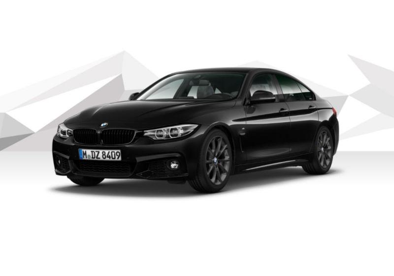 BMW Serie 4 418d Gran Coupé Msport Saphirschwarz Km 0 UA0B3AU-a