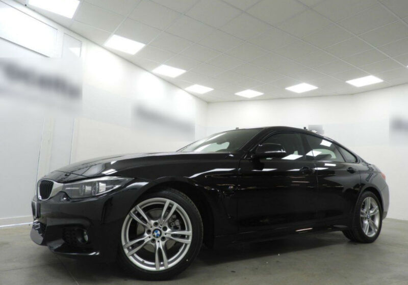 BMW Serie 4 G.C. 420d Gran Coupé Msport Aut. Saphirschwarz Usato Garantito UT909TU-a