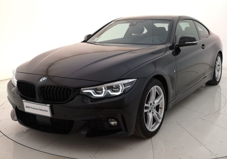 BMW Serie 4 420d Coupé Msport Saphirschwarz Usato Garantito F60B86F-1-original