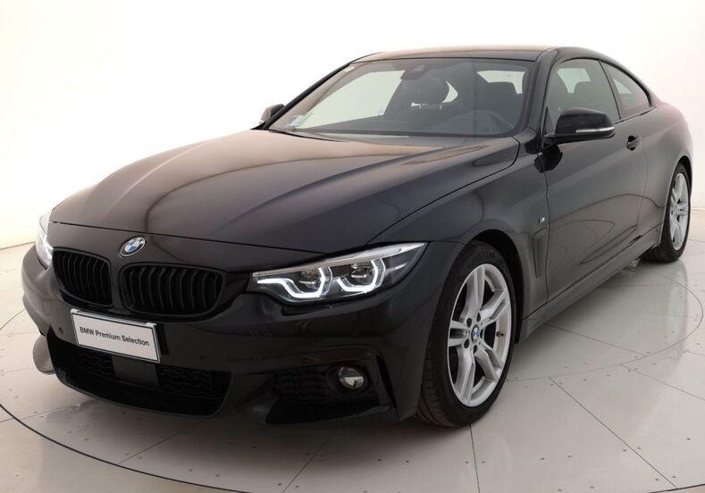 BMW Serie 4 420d Coupé Msport Saphirschwarz Usato Garantito 730BT37-a
