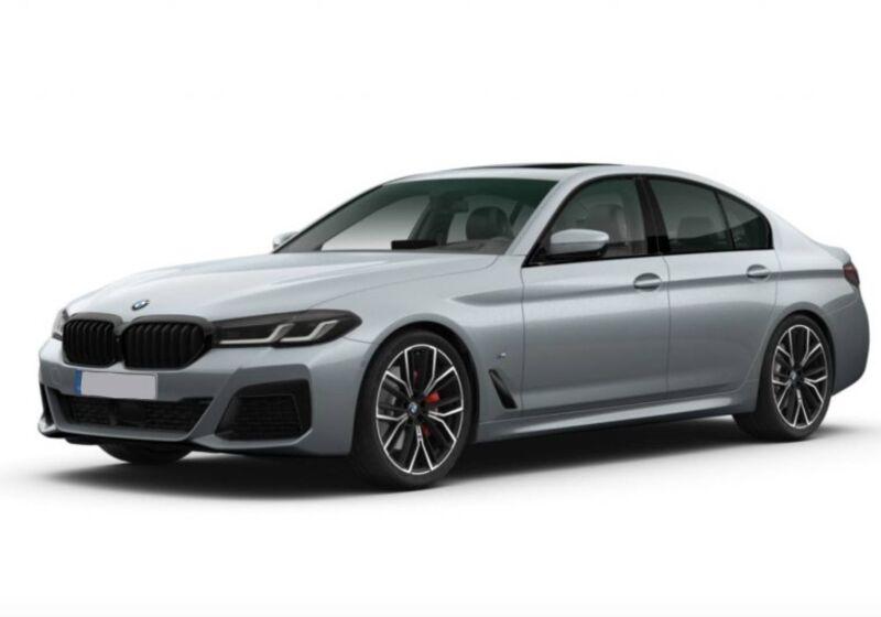 BMW Serie 5 520d mhev 48V xdrive Msport auto Bluestone Da immatricolare TY0B6YT-a-1--v1