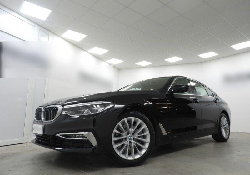 BMW Serie 5 520d aut. Luxury Saphirschwarz Km 0 DA0BDAD-a_censored