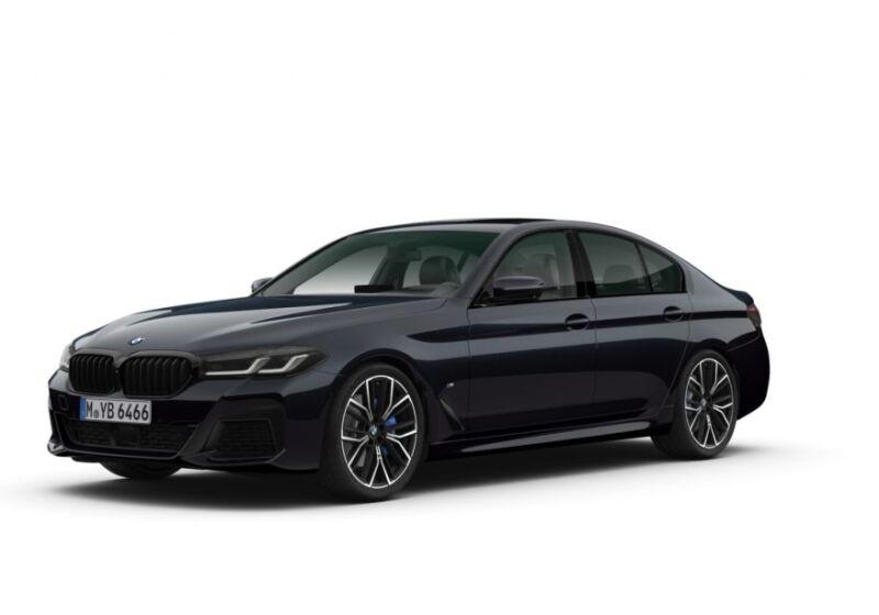 BMW Serie 5 520d mhev 48V xdrive Msport auto Carbonschwarz Da immatricolare UB0BVBU-520