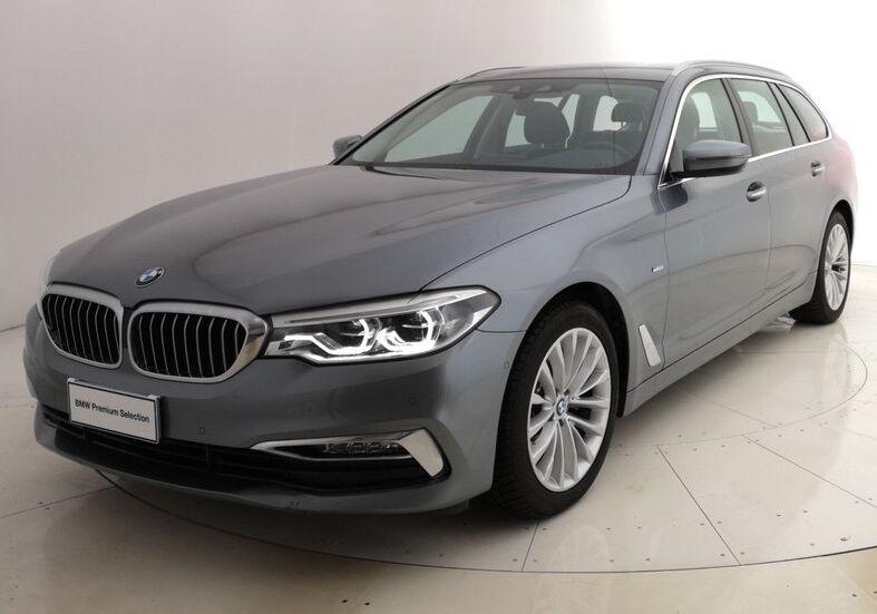 BMW Serie 5 520d Touring Luxury Bluestone Usato Garantito K70B87K-a
