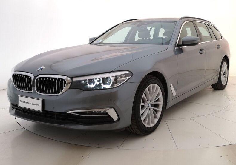 BMW Serie 5 520d Touring Luxury Bluestone Usato Garantito YB0CDBY-a