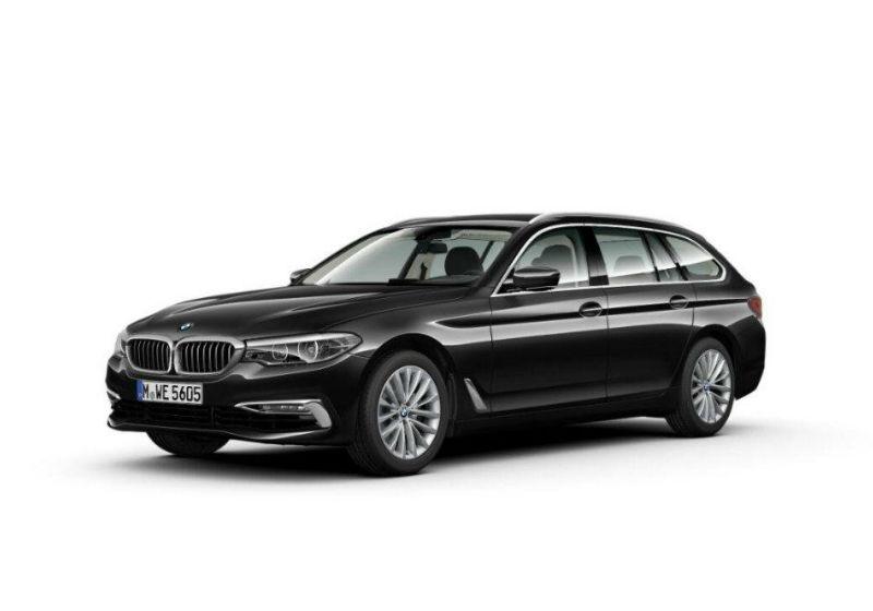 BMW Serie 5 520d Touring Luxury Saphirschwarz Km 0 KT0B2TK-a