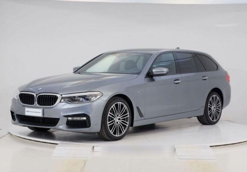BMW Serie 5 520d Touring MSport Auto. Bluestone Km 0 2S0BNS2-Schermata%202020-09-17%20alle%2016.59.27_censored