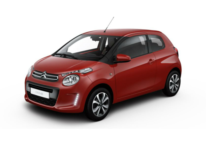 CITROEN C1 1.0 VTi 72 s&s 3 porte Feel Love Red Km 0 9RFY2-a