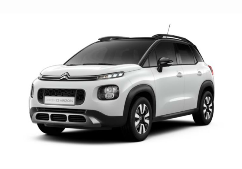 CITROEN C3 Aircross BlueHDi 100 Shine Natural White Km 0 YBV0VBY-a