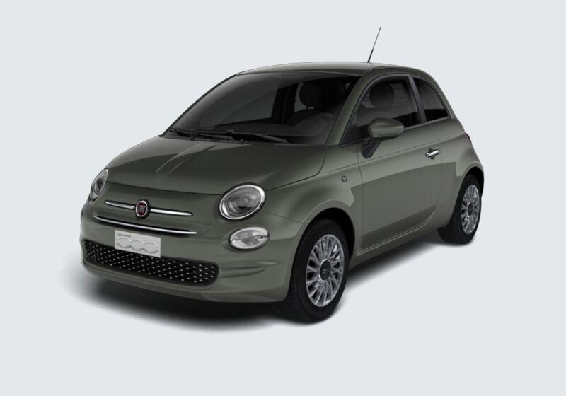 FIAT 500 1.0 Hybrid Lounge Grigio Colosseo Da immatricolare CF0BJFC-44258_esterno_lato_1