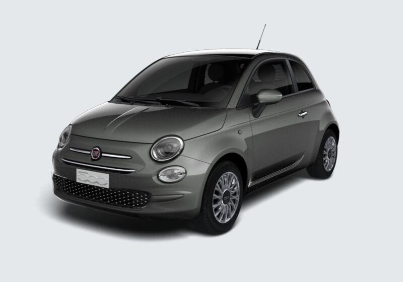 FIAT 500 1.0 Hybrid Lounge Grigio Pompei Km 0 YG0BJGY-44318_esterno_lato_1