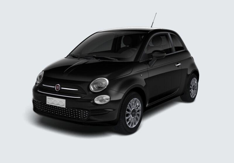 FIAT 500 1.0 Hybrid Lounge Nero Vesuvio Km 0 9Y0BHY9-42970_esterno_lato_1