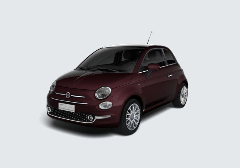 FIAT 500 1.0 Hybrid Star Bordeaux Opera Km 0 2Q0CFQ2-73347_esterno_lato_1