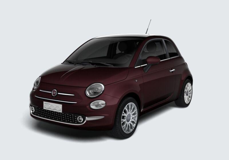 FIAT 500 1.0 Hybrid Star Bordeaux Opera Km 0 PY0CCYP-68562_esterno_lato_1