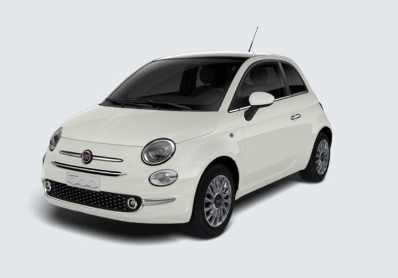 FIAT 500 1.2 EasyPower Lounge MY 19 Bianco Gelato Km 0 0000VL6-24680_esterno_lato_1